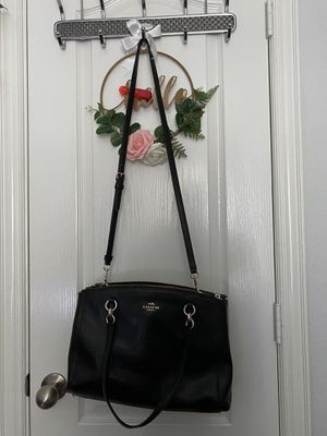 Black coach bag for Sale in Rockwall, TX
