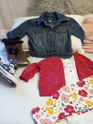 Babys 0-3 months bundle. Clothes/shoes/jacket for Sale in Charlotte, NC