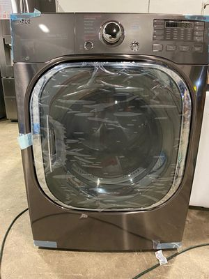 😍 LG Black Stainless Steel Gas Dryer for Sale in Dallas, TX