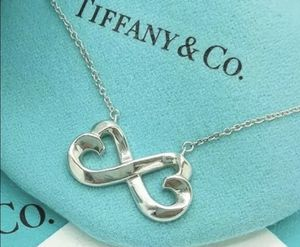 Tiffany and Co Double Loving Infinity Heart Necklace for Sale in Chicago, IL