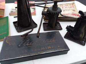 Classic Automobile Lot. Including Bottle Jacks, Packard, GM, and manuals 275.00 OBO for Sale for sale  Fairfield, OH