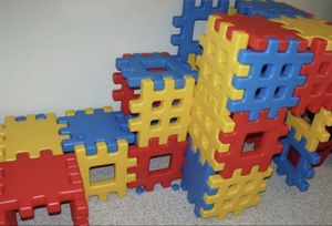 2 sets of Little Tikes Big Waffle Blocks for Sale in Salem, OR