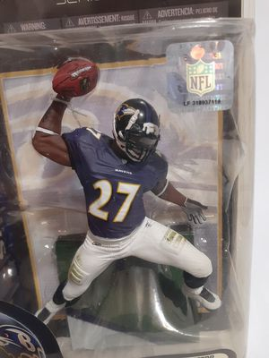 NFL Ray Rice #27 Baltimore Ravens McFarlane Toys Series 25 for Sale in St. Petersburg, FL