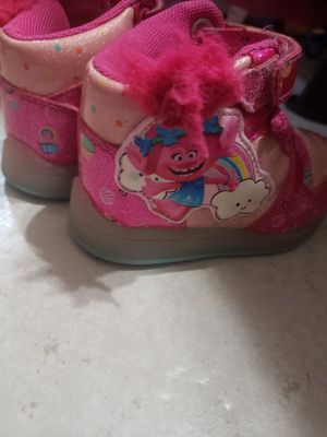 Trolls toddler shoes size 5c for Sale in Oakland Park, FL