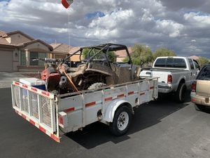 BigTex Utility Trailer 6.5x12ft Long for Sale in Las Vegas, NV