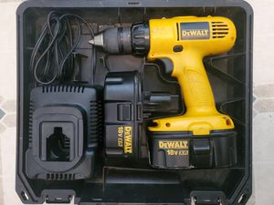 DeWalt dw959 drill case battery charger for Sale in Elmer, NJ