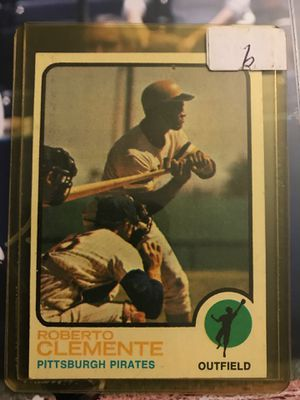 Roberto Clemente Baseball Card for Sale in Spring Valley, CA