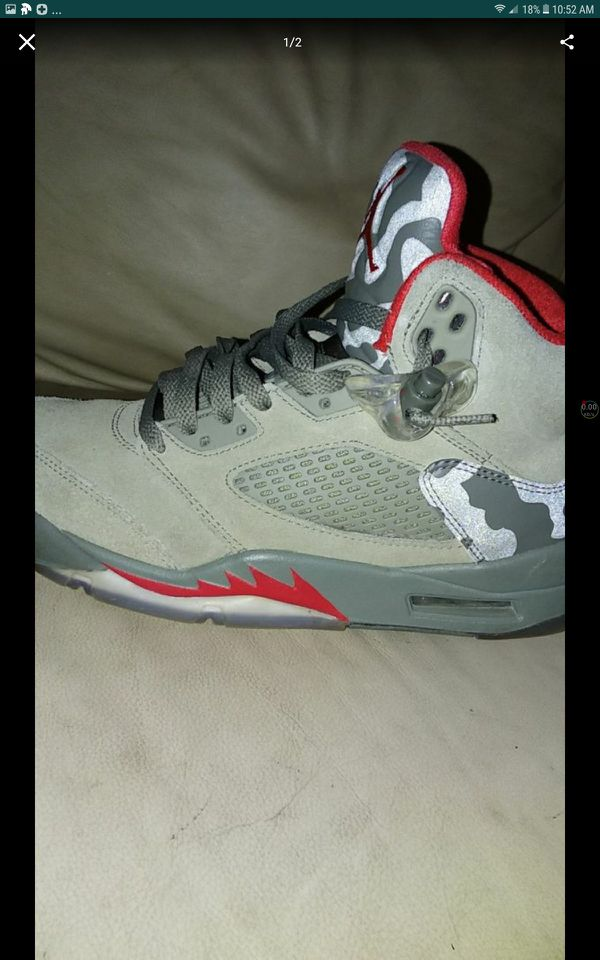 9ea1f382c906 Air Jordan s retro 5s 120  Size 8.5 for Sale in New Britain