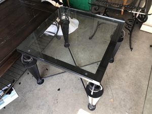 """glass table 26x26""""x22"""" for Sale in Tampa, FL"""