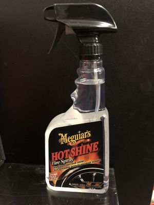 Meguiars hotshine tire spray for Sale in Palmdale, CA