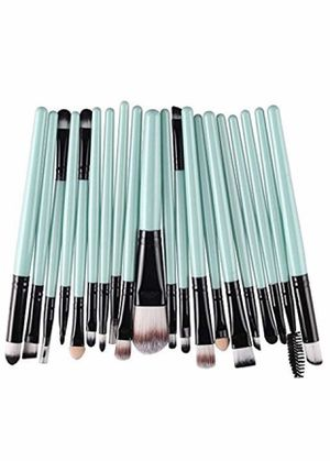 Brand new 20 piece makeup brushes, Included Foundation Powder Brush,Lip Brush,Mascara Brush,Eyeshadow Brush,Two Side Brush,Eyebrow Mascara Brush,Spon for Sale in Arnold, MO