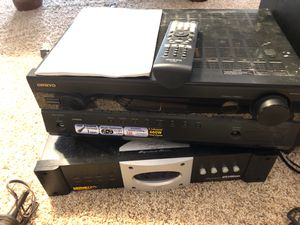 Onkyo Receiver and Monster Power Conditioner/surge protector for Sale in Clayton, NC