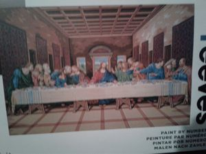 Paint by Numbers--the Last Supper for Sale in Sanger, CA