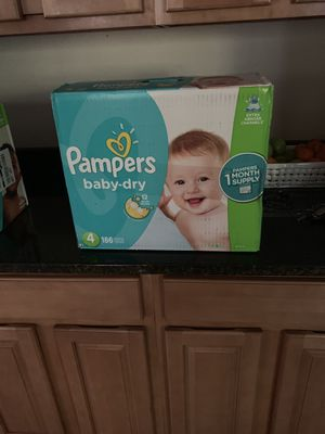 Pampers Baby Dry Diapers Level 4 for Sale in Chesapeake, VA