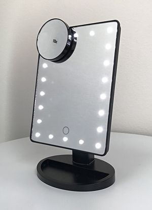 "Brand New $15 each 11x6.5"" LED Vanity Makeup Mirorr Touch Screen Dimming w/ 10x Magnifying for Sale in Pico Rivera, CA"
