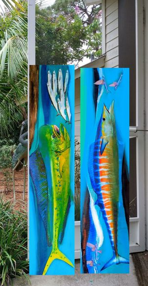 Set of 2 on Wood for Sale in Port St. Lucie, FL
