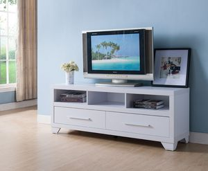 Galaxy TV Stand up to 70in TVs, White for Sale in Westminster, CA