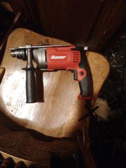 "Bauer 1/2"" Reversible Hammer Drill. Model-1992E-B for Sale in Huntsville, AL"