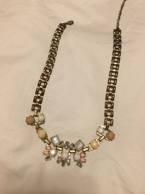 Chain necklace (gold+pink) for Sale in Washington, DC