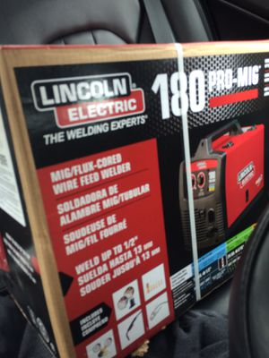 Band new Lincoln mig welder for Sale in Oklahoma City, OK