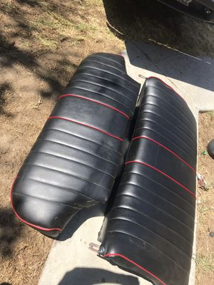 Trade trade rear seats only new upholstery. for Sale in Chula Vista, CA
