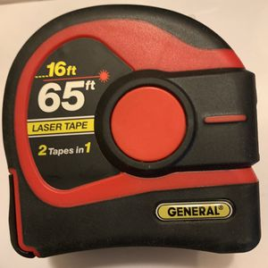 LTM2X Laser Tape Measure 2-in-1, 65 Ft for Sale in Washington, DC