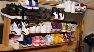Jordan lot timberland shoes retro for Sale in Orland Park, IL