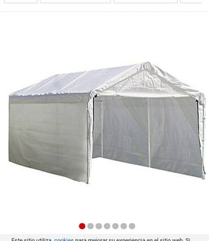 Enclosure kit for canopy 10 x20 for Sale in Phoenix, AZ