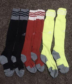 Adidas soccer socks size medium for Sale in Fresno, CA