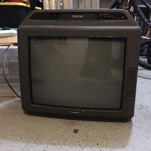 "Panasonic VHS / 20"" TV for Sale in Marysville, WA"