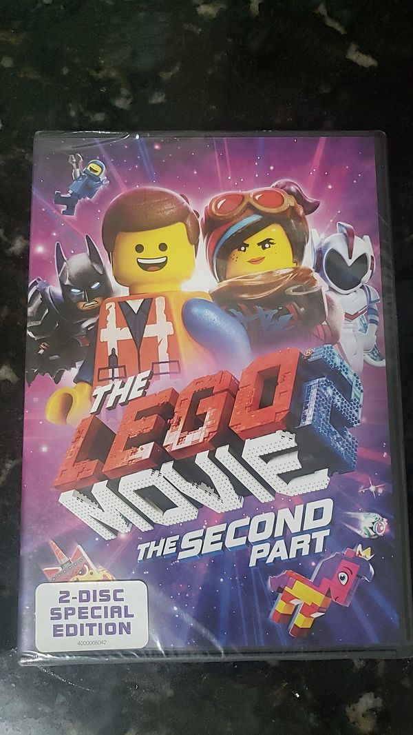 The Lego movie the second part dvd