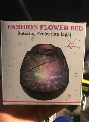 Flower Rotating Projection Light for Sale in Claremont, CA