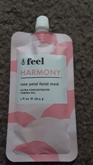 Rose Petal face mask feel harmony for Sale in Victorville, CA
