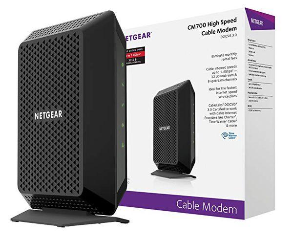 Netgear CM700 Cable Modem Docsis 3.0