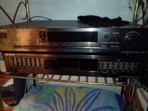 Sony amfm tuner and 7 band equalizer for Sale in Bellevue, WA