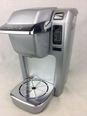 Keurig K10 / B31 Mini Plus Single Serve K-Cup Coffee Maker System - Silver for Sale in Wildomar, CA
