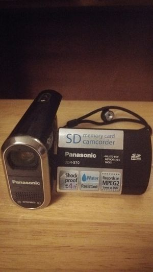 Panasonic camcorder for Sale in Rockville, MD