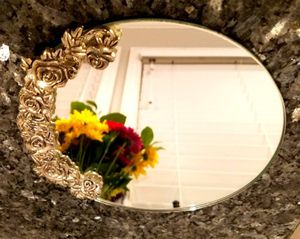 Beautiful silver table mirror! Antique!! Make an offer. for Sale in Lynnwood, WA