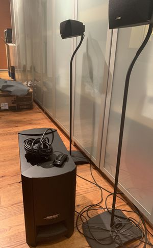 Bose Cinemate series II w/stands for Sale in San Diego, CA