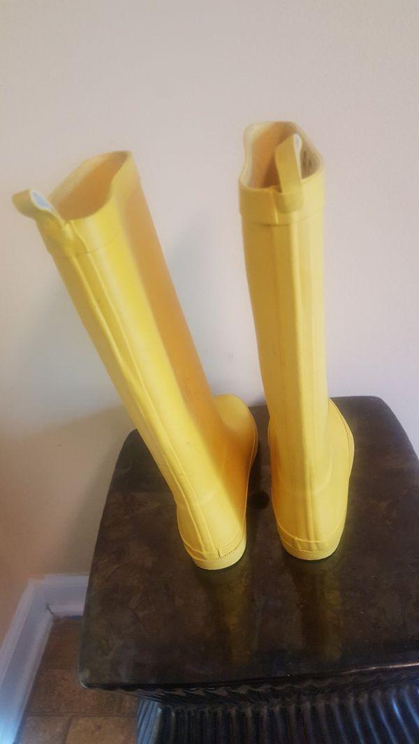 Girls Rain Boots Sz 1