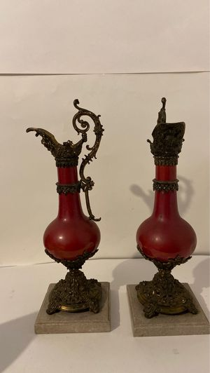 Pair of Beautiful Antique Victorian lamps for Sale in Beverly Hills, CA