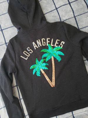 VS PINK LOS ANGELES BLING FULL ZIP HOODIE SZ S for Sale in Los Angeles, CA