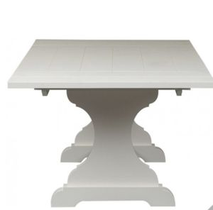 Large Rectangular White Dining Table Seats up to 8 BRAND NEW IN BOX for Sale in Roseville, CA