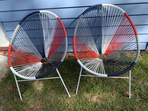 Patio Chairs/ indoor outdoor chairs for Sale in Greenbelt, MD