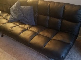 Faux Leather Futon for Sale in Aurora,  CO