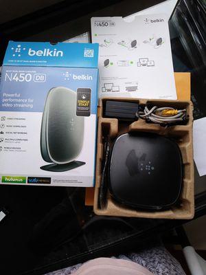 Belkin N450 wireless router for Sale in Philadelphia, PA