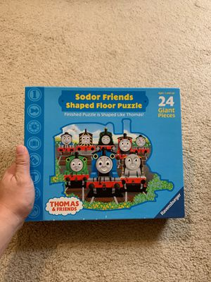 Thomas&friend 24 giant pieces puzzle for Sale in Tampa, FL