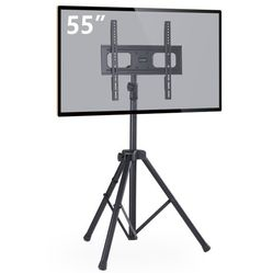 """Tripod TV Stand for 32""""-55"""" TVs Foldable Metal Legs for Sale in Ontario,  CA"""