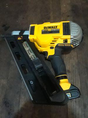 Dewalt 20v nail gun for Sale in Seattle, WA
