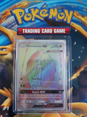 Pheromosa GX pokemon card hyper rare for Sale in Denver, CO